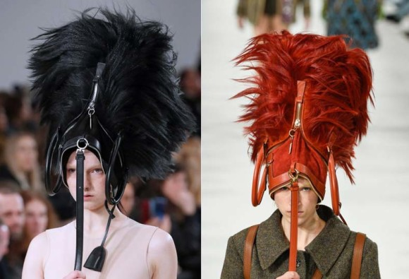 The next hot trend is wearing your handbag on your head