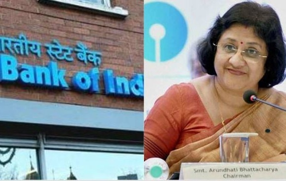 sbi chairperson arundhati bhattacharya supports decision of charges on cash transection