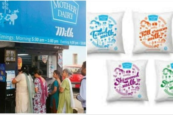 mother dairy increrased milk prices upto 2 rupees per liter