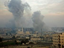 सीरिया के इदलिब में हवाई हमले में 18 नागरिकों की मौत: निगरानी समूह