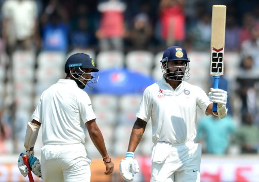 RECORD: Least innings to add 2500 runs as a pair among Indians in Tests