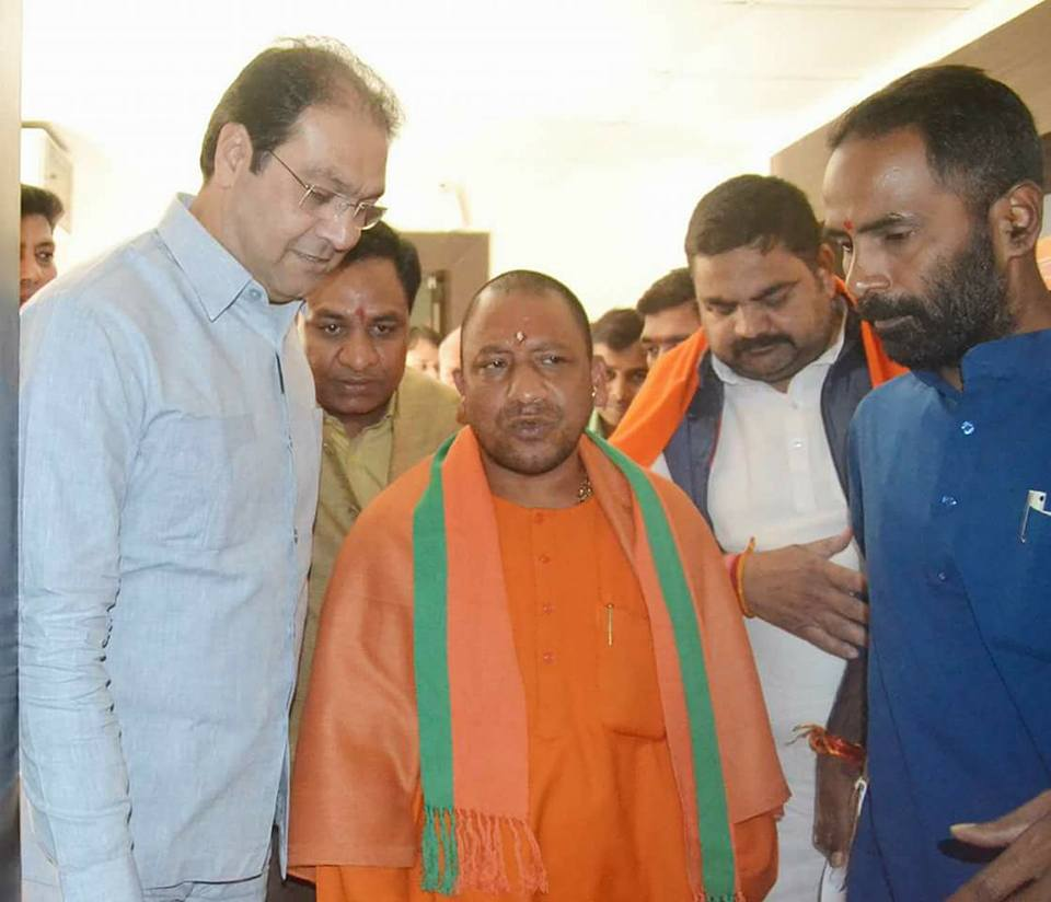A Muslim face in Yogi cabinet, You need to know who is Mohsin Raza