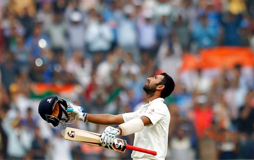 Cheteshwar Pujara became a batsman who faced most number of balls by an Indian in a Test innings
