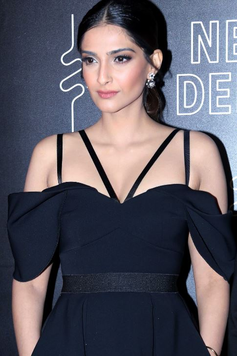 Bollywood actor Sonam Kapoor during the event organised to announce Delhi as a Airbnb Trips destination in New Delhi