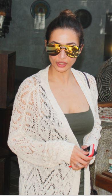 Malaika Arora Khan's hotness captures in camera