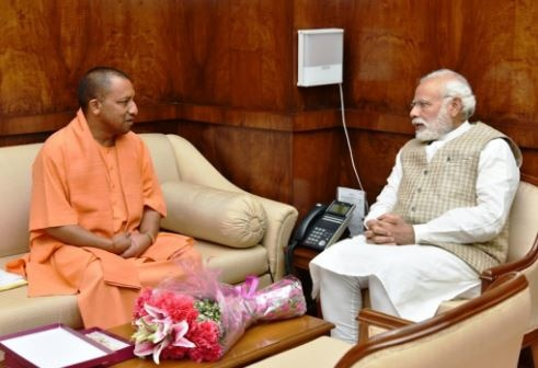 For the finalization of department of ministers, adityanath yogi to meet amit shah in delhi today