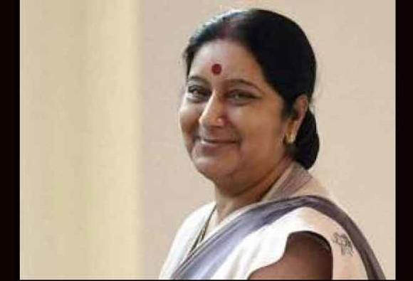 HomeIndia news Facilitate return of Hyderabadi woman stranded in Pakistan: Sushma Swaraj to Indian High Commission Facilitate return of Hyderabadi woman stranded in Pakistan: Sushma Swaraj to Indian High Commission