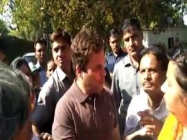 MCD चुनाव: आज से नामांकन शुरू, टिकट बंटवारे से नाराज़ कार्यकर्ताओं का राहुल के सामने प्रदर्शन