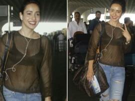 IN PICS : ब्लैक ट्रांसपेरेंट टॉप में दिखा नेहा शर्मा का हॉट अवतार!