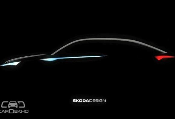 स्कोडा ने दिखाई पहली इलेक्ट्रिक कार के कॉन्सेप्ट की झलक