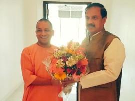 अयोध्या में रामायण म्यूजियम बनाने को लेकर महेश शर्मा ने की CM योगी से चर्चा