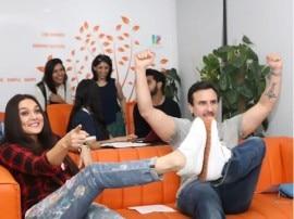 प्रीति जिंटा और सैफ अली खान ने साथ में देखा पहले दिन का IPL मैच, यहां हैं तस्वीरें