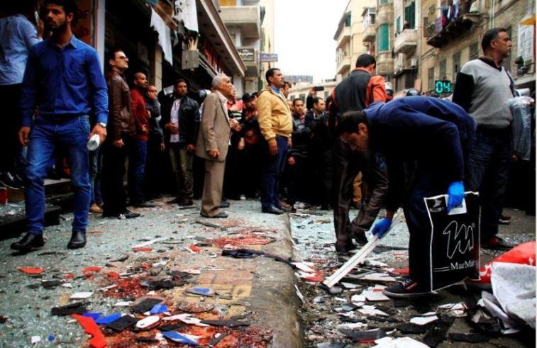 Image result for मिस्र के कॉप्टिक चर्च पर आईएसआईएस के धमाकों में 36 की मौत, 140 जख्मी