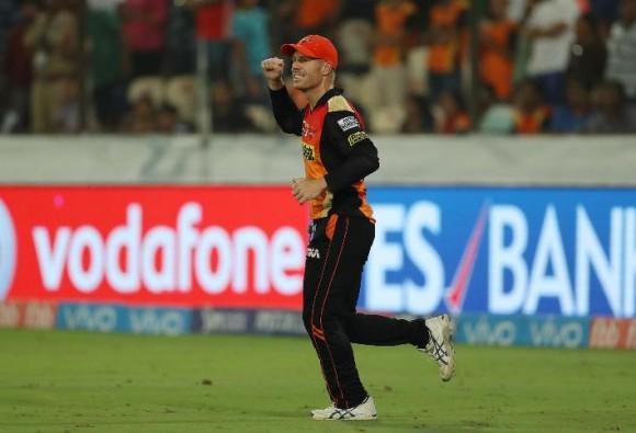 SRHvsDD बल्ले और गेंद से बेजोड़ प्रदर्शन से जीत मिली: वार्नर