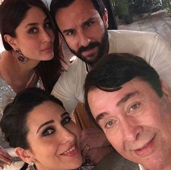 Kareena, Saif and the entire Kapoor khandaan ring in Babita Kapoor's birthday in style – view pics