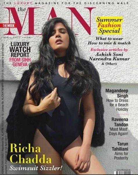 Richa Chadda Shared Hot Photos On Social Media