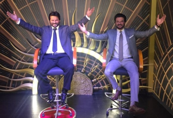 Actor Anil Kapoor Unveils His Wax Statue in Singapore, See pics