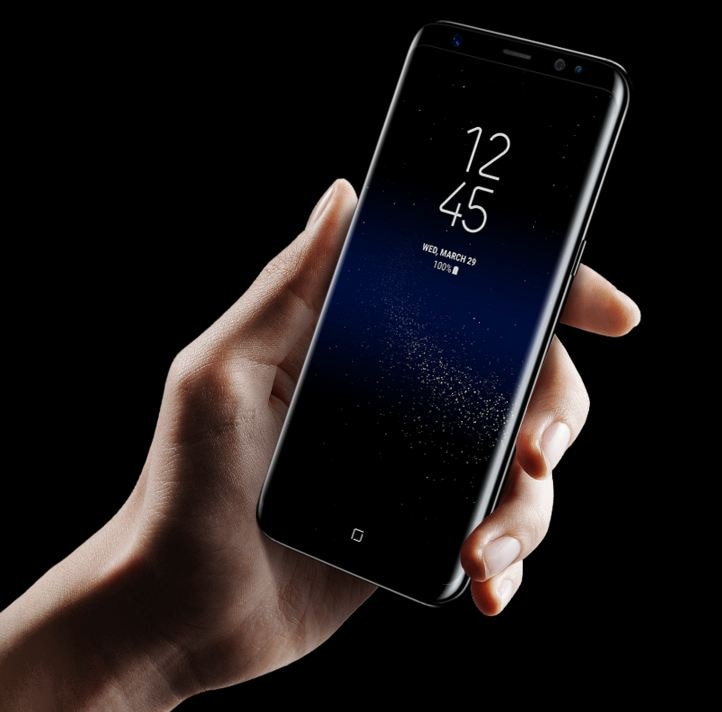 Samsung launched most spectacular smartphone Galaxy S8 and S8 +