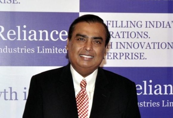 Mukesh Ambani on top in forbes richest indian list continuesly 10th year