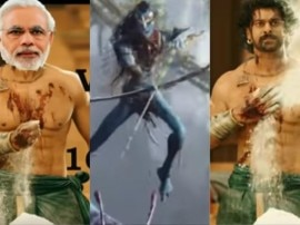 बाहुबली 2: द कंक्लुजन की रिलीज में चंद घंटे बाकी, सोशल मीडिया पर फन्नी वीडियोज की धूम