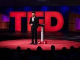शाहरुख ने 'टेड टॉक्स' में लिया हिस्सा, सितंबर से नए शो 'टेड टॉक इंडिया-नई सोच' में आएंगे नजर