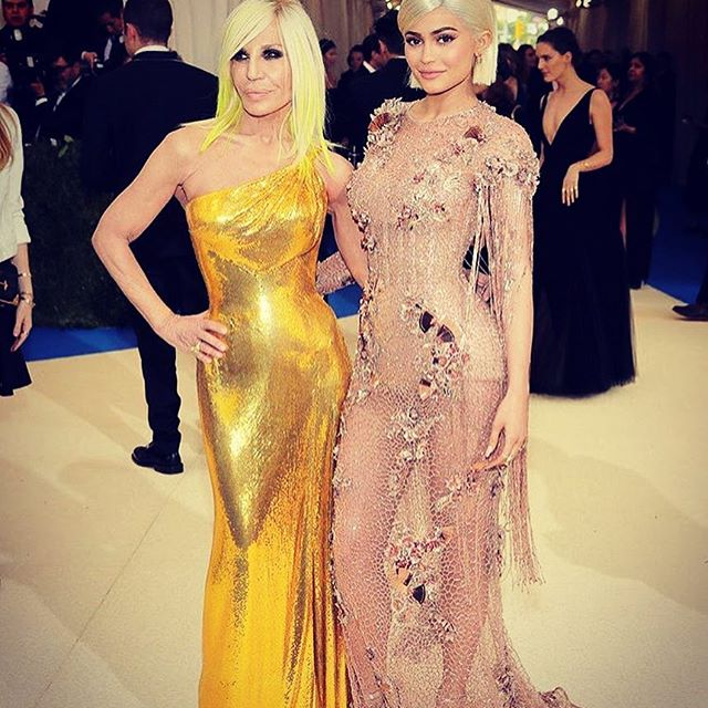 See How Kim kardashian, Kylie Jenner and kendall jenner looked during the Met Gala