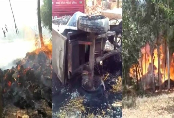 UP: violence hits Saharanpur again, dalit's houses torched
