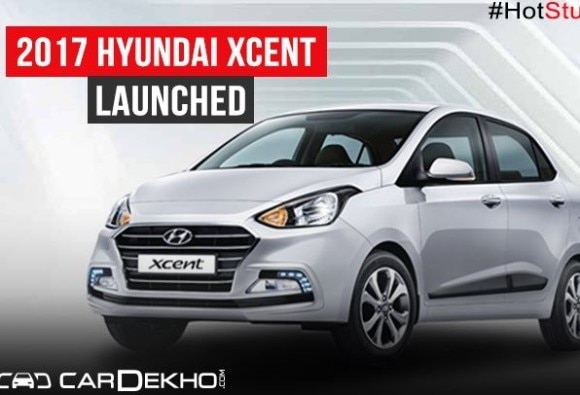 hyundai xcent facelift launched at rs 538 lakh