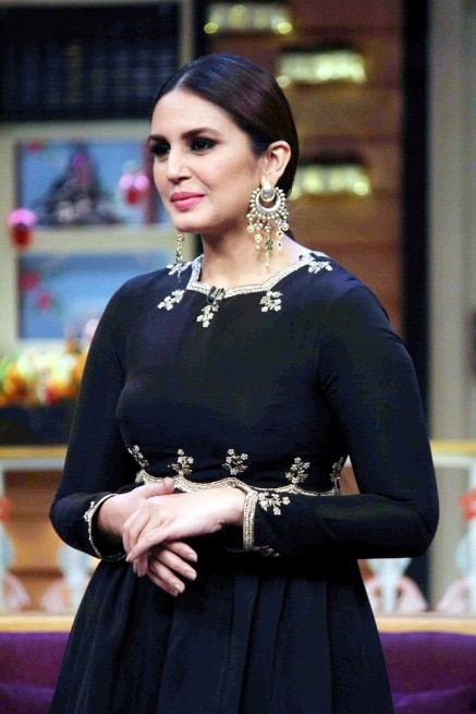 Huma Qureshi and brother Saqib Saleem on 'The Kapil Sharma Show' for the promotion of their upcoming movie dobaara