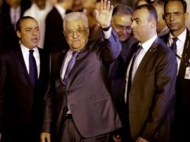 फिलिस्तीन के राष्ट्रपति महमूद अब्बास चार दिवसीय यात्रा पर भारत पहुंचे