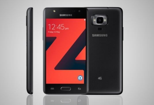 Samsung Z4 With Tizen 3.0 and front flash launched in india