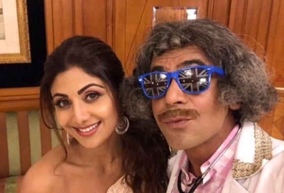 Shilpa Shetty thanks Sunil Grover for his comedy gig in Dubai
