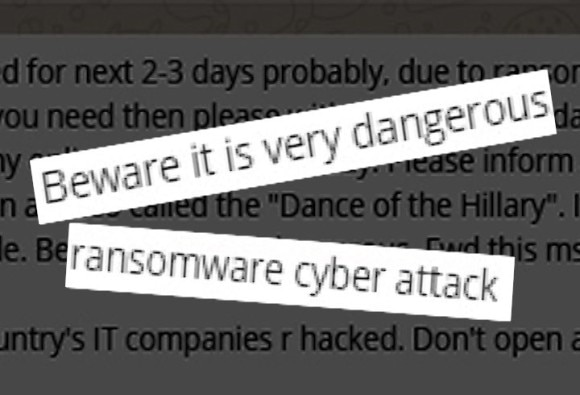 know truth of this viral message regarding ransomware virus
