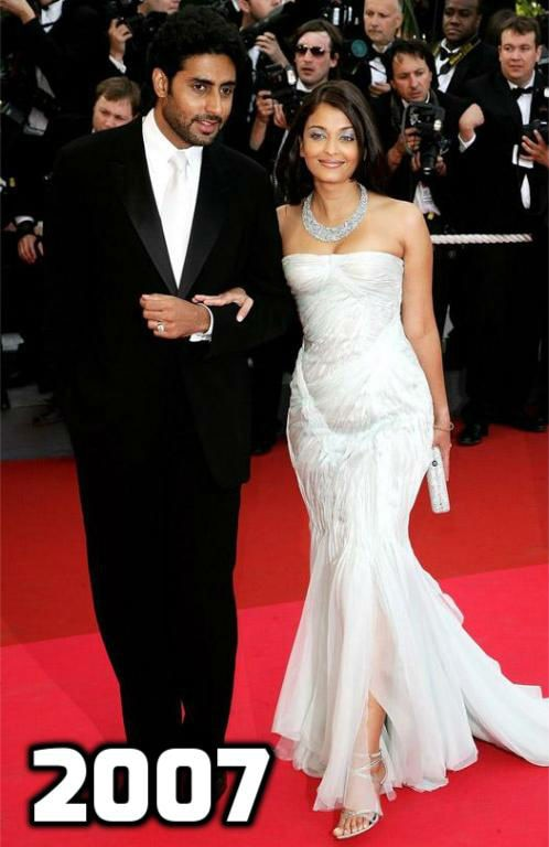In Pics: A look at 15 years of 'CANNES QUEEN' Aishwarya Rai Bachchan on the RED CARPET of the French Riviera!