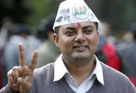 Delhi: AAP MLA Somdutt put on trial for offence of rioting
