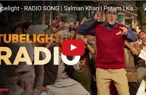 Watch : The first song from Salman Khan starrer 'Tubelight' is viral on internet