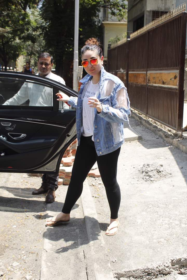 Kareena Kapoor Khan post Yoga session