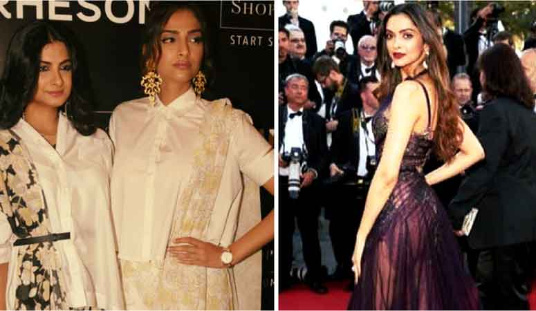 Sonam Kapoor and Rhea Kapoor launch their fashion label Rheson, on the sidelines Sonam speaks about Deepika & Cannes