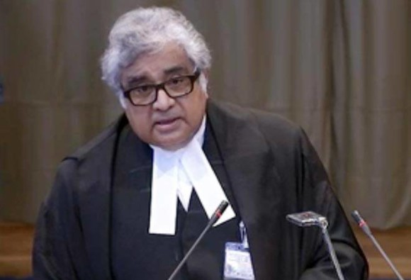 Harish Salve, who charged Re 1 in Kulbhushan Jadhav case