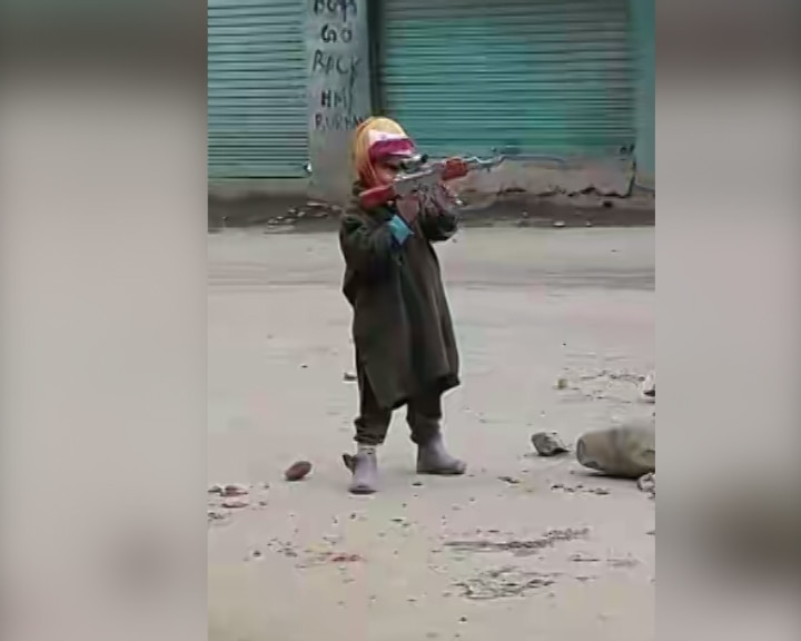 Militants' latest weapon for propaganda are the kids of Kashmir