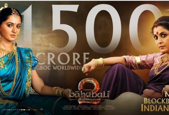 Worldwide box office collection of Baahubali 2