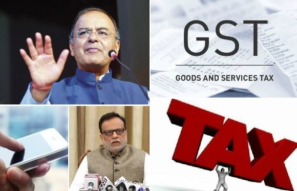 GST new rates fixed, mobile services will face 18 percent gst rate