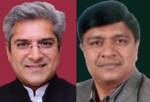 Delhi: AAP MLAs Kailash Gahlot and Rajendra Pal Gautam take oath as ministers