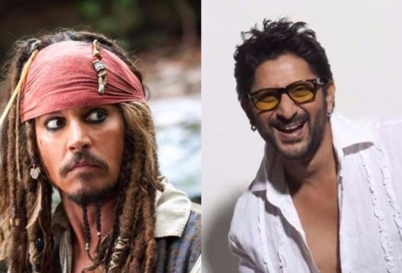 Arshad Warsi dubs for Johnny Depp as Jack Sparrow in Pirates of the Caribbean 5