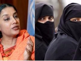 तीन तलाक पर बोलीं शबाना आजमी, 'मुस्लिम महिलाओं के मूल अधिकारों का उल्लंघन करती है यह प्रथा'