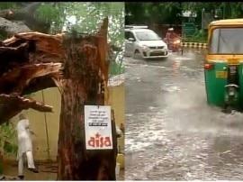 दिल्ली-NCR में भारी बारिश के चलते कई इलाकों में भरा पानी, करंट लगने से एक की मौत