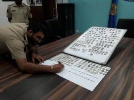 देखें तस्वीरें : कस्टम विभाग ने अटारी से बरामद किए 250 से अधिक चांदी के दुर्लभ सिक्के