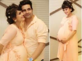 पति को गले लगा कर करण मेहरा की पत्नी निशा रावल ने शेयर की अपनी बेबी शावर की तस्वीर
