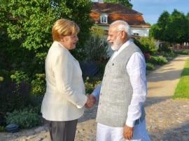जर्मन चांसलर एंजेला मर्केल से PM मोदी ने की मुलाकात, कहा- 'बहुत अच्छी बातचीत हुई'