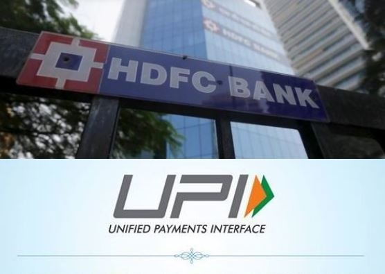 HDFC BANK will not take charges on payment by UPI